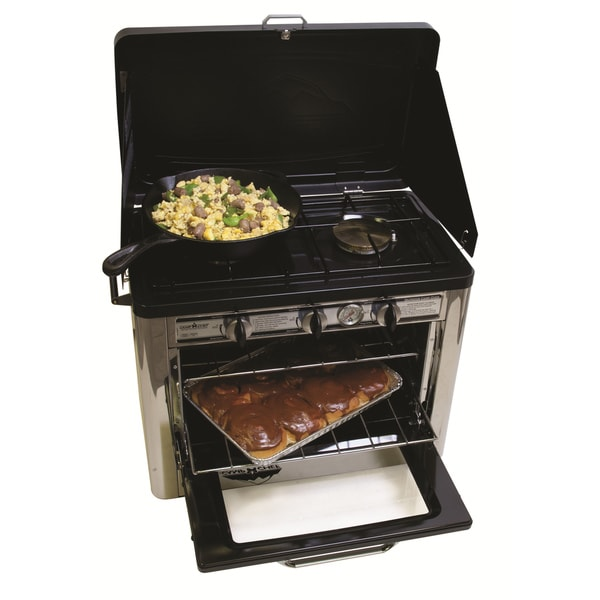 Camp Chef Outdoor Camp Oven With 2 Burner Stove Top 14791092