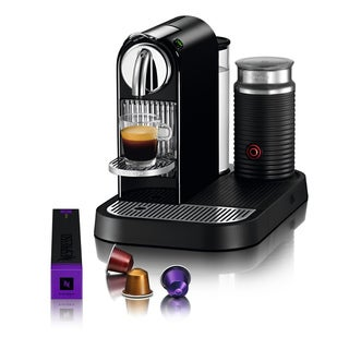 Nespresso Black CitiZ & Milk Espresso Machine (Refurbished)