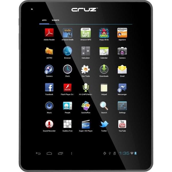 "Velocity Micro Cruz T500 T510 8 GB Tablet - 9.7"" - Wireless LAN - ARM"