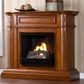 Jocelin Walnut Gel Fuel Fireplace