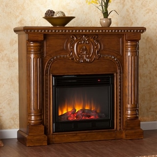 Charnell Oak Electric Fireplace