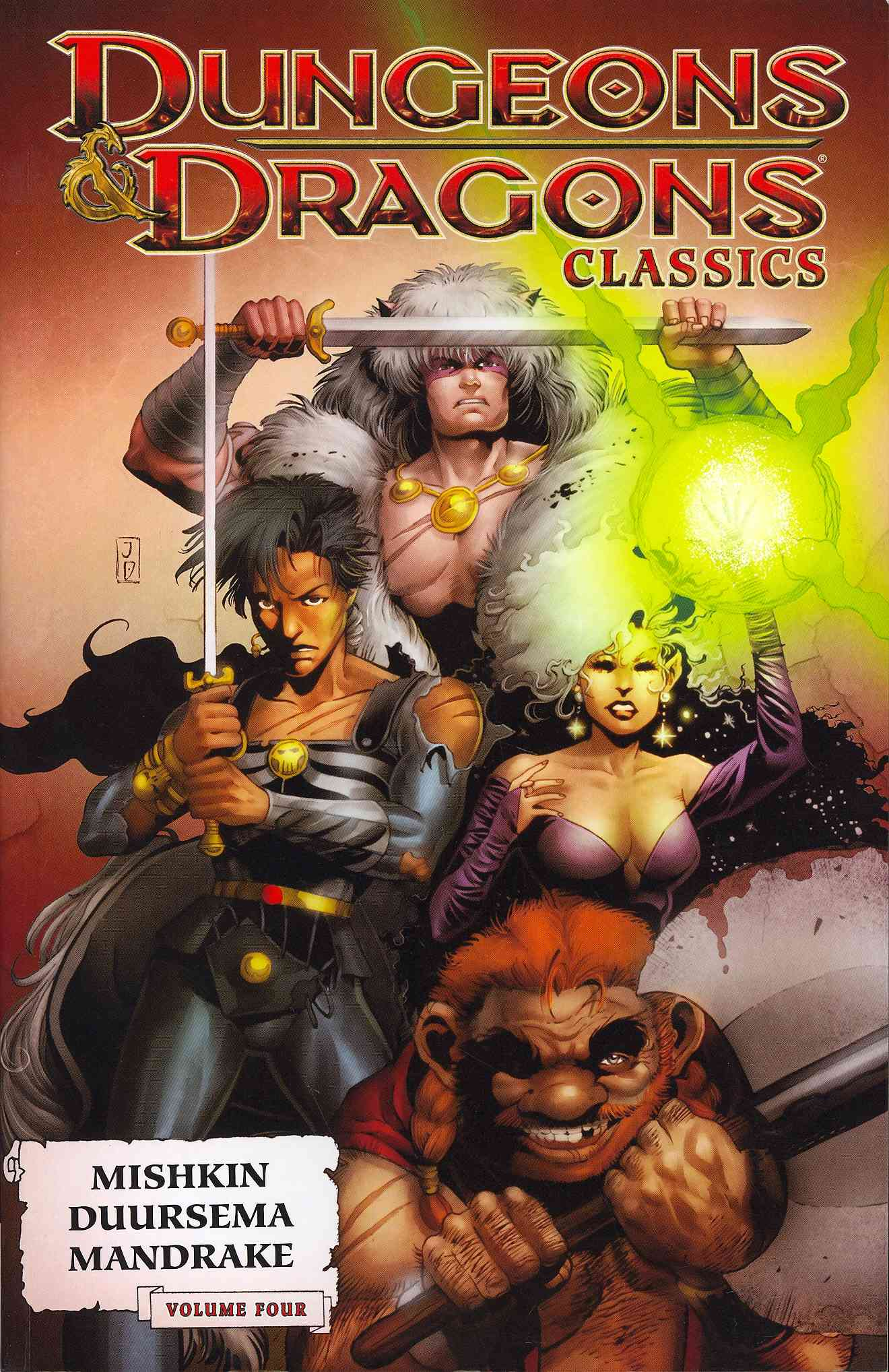 Dungeons & Dragons Classics 4 (Paperback)