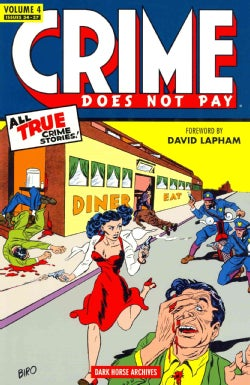 Crime Does Not Pay Archives 4 (Hardcover)
