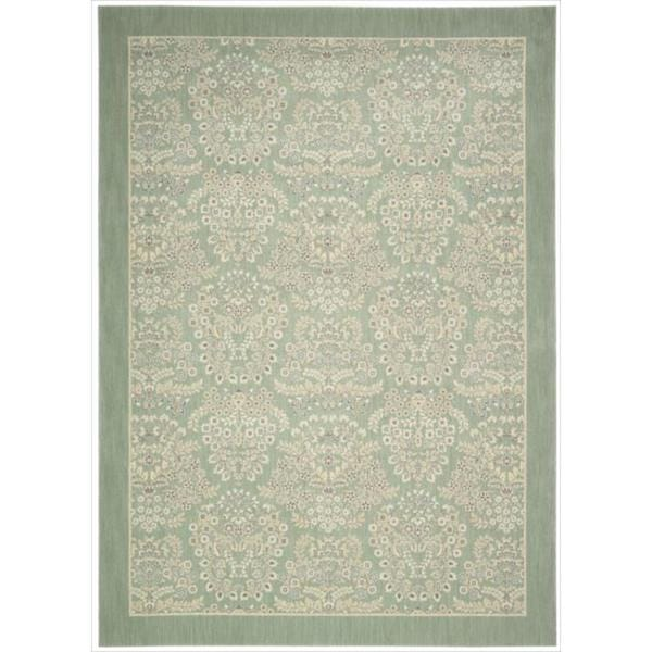 Barclay Butera Hinsdale Celery Area Rug by Nourison (3'6 x 5'6)