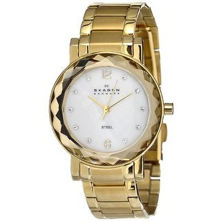 Skagen Women's Goldtone Stainless Steel Watch
