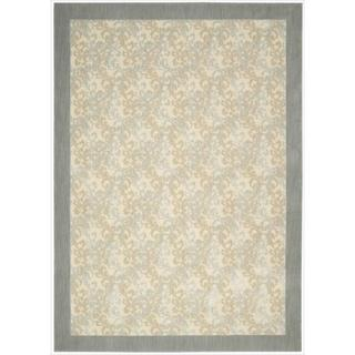 Barclay Butera by Nourison Hinsdale Dove Rug (7'9 x 10'10)
