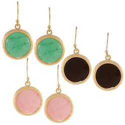 KC Signatures Gold-plated Coin Earrings