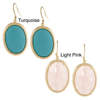 KC Signatures Gold-plated Oval Earrings