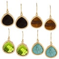KC Signatures Gold-plated Pear-shape Drop Earrings