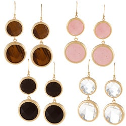 KC Signatures Gold-plated Double Drop Earrings