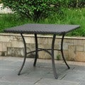 Barcelona Resin Wicker 39-inch Square Outdoor Dining Table