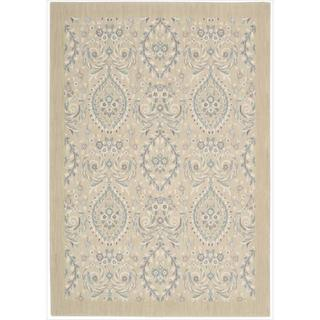 Barclay Butera Hinsdale Lily Area Rug by Nourison (5'3 x 7'5)