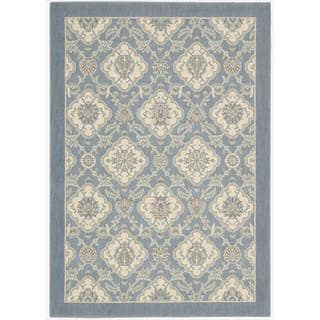 Barclay Butera by Nourison Hinsdale Skyblue Rug (5'3 x 7'5)