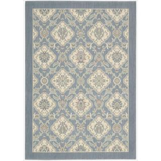 Barclay Butera Hinsdale Skyblue Rug (5'3 x 7'5) by Nourison