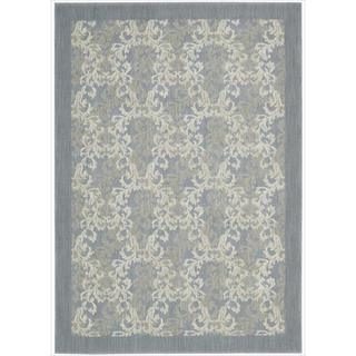 """Barclay Butera Hinsdale Skyblue Area Rug (5'3"""" x 7'5"""") by Nourison"""