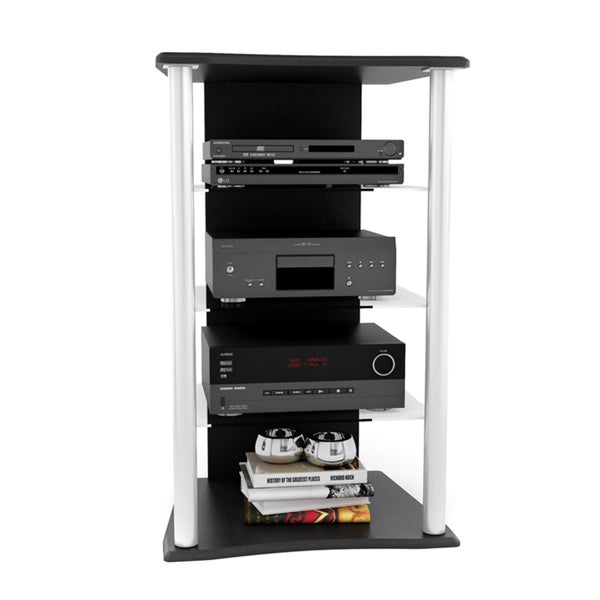Sonax Cruise Wood Midnight Black 25-inch Component Stand