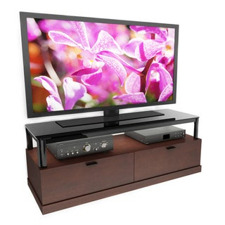 Sonax Bandon Wood Veneer 55-inch Entertainment Center
