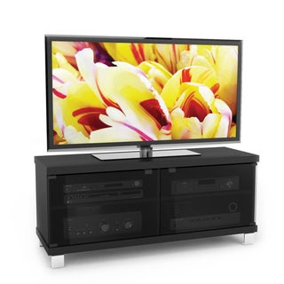 Sonax Holland Wood Midnight Black 44-inch Entertainment Center