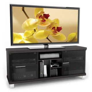 Sonax Holland Wood Ravenwood Black 60-inch Entertainment Center