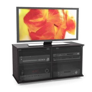 Sonax Fiji Wood Ravenwood Black 46-inch Entertainment Center