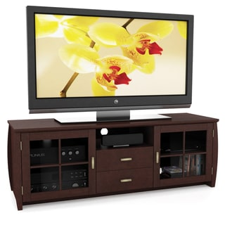 Sonax Washington Wood Espresso 59-inch Entertainment Center
