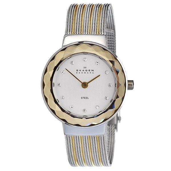 Skagen Women's Two-tone Steel Mesh Watch