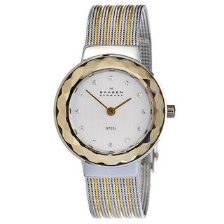 Skagen Women's Two-tone Steel Mesh Watch