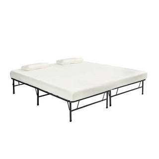Pragma Bi-Fold Full Size Bed with Memory Foam Mattress