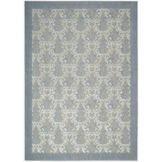 Barclay Butera by Nourison Hinsdale Skyblue Rug (7'9 x 10'10)