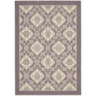 Barclay Butera Hinsdale Violet Rug (5'3 x 7'5) by Nourison