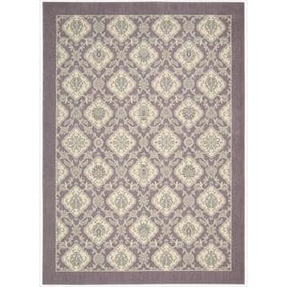 Barclay Butera Hinsdale Violet Rug (7'9 x 10'10) by Nourison