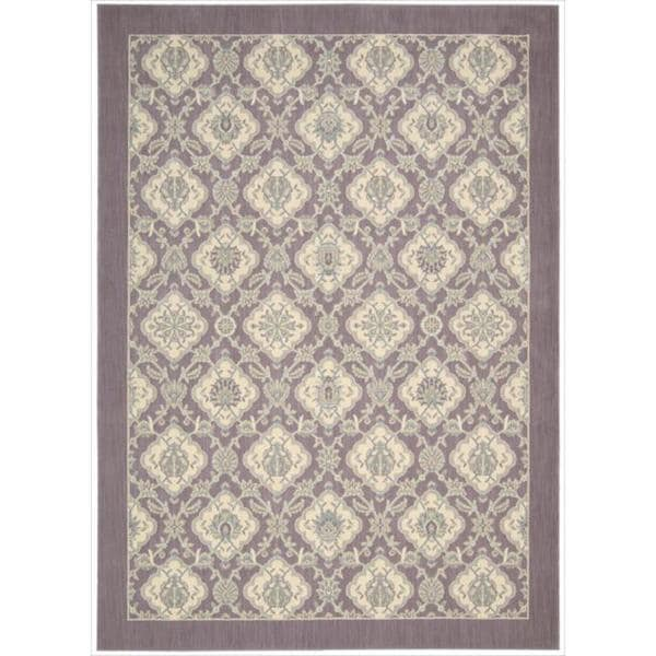 Barclay Butera by Nourison Hinsdale Violet Rug (7'9 x 10'10)