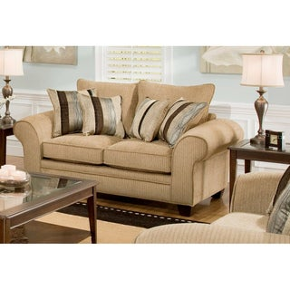 Bulington Loveseat and Throw Pillows
