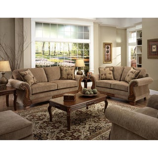 Sullivan Havana Sofa and Loveseat Set