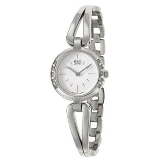 ESQ Women's Corbel Diamond Accent Watch