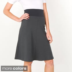 American Apparel Women's Interlock High-Waist Skirt