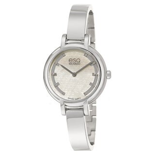 ESQ by Movado Women's Swis Contempo Diamond Accent Watch