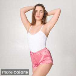 American Apparel Women's Satin Charmeuse Roller Shorts