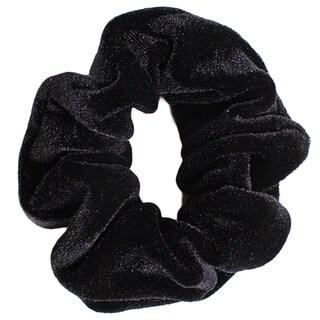 American Apparel Black Velvet Scrunchie Hair Tie