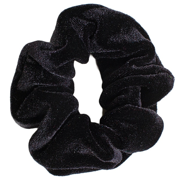 American Apparel Black Velvet Scrunchie Hair Tie