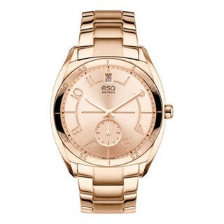 ESQ by Movado 07101402 Women's Origin Rose Gold Ion-plated Stainless Steel Watch