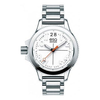 ESQ by Movado 07101404 Fusion Women's White Dial Stainless Steel Watch
