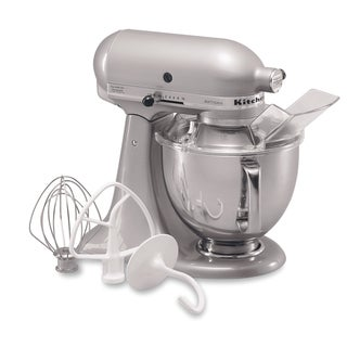 KitchenAid RRK150SM Silver 5-quart Artisan Tilt-Head Stand Mixer (Refurbished)