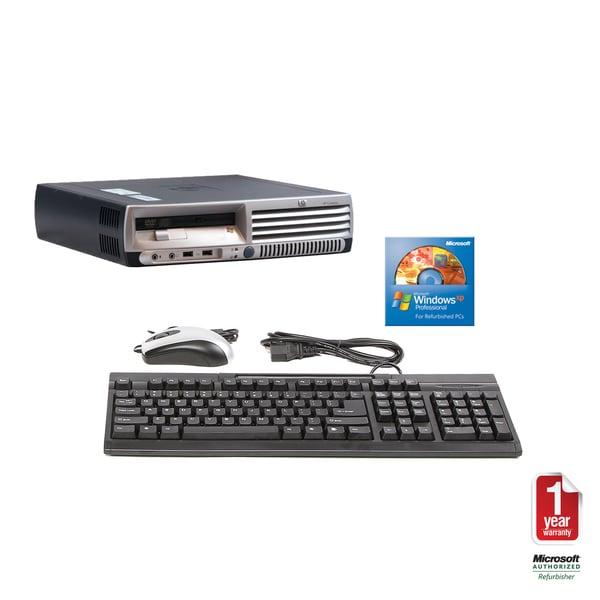 HP DC7100 2.8GHz 80GB USDT Computer (Refurbished)
