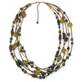 Handmade Terra Bella Glass Necklace (India)