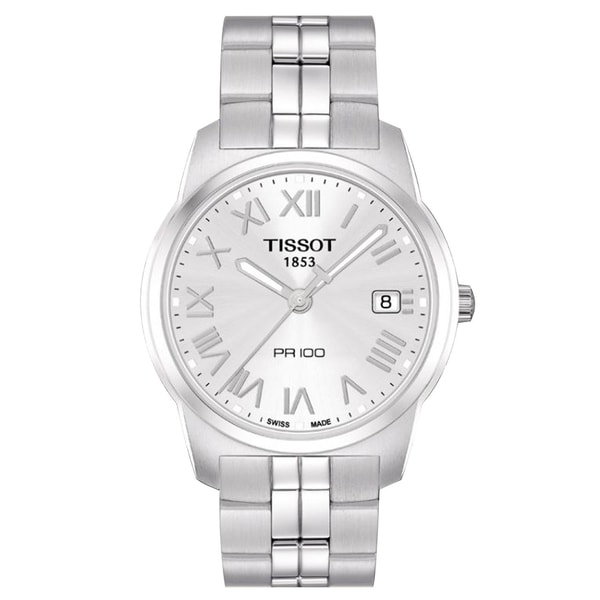 Tissot Men's T0494101103301 'PR100' Stainless Steel Watch