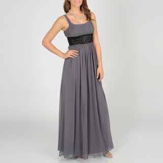 Decode 1.8 Women Beaded Goddess Gown