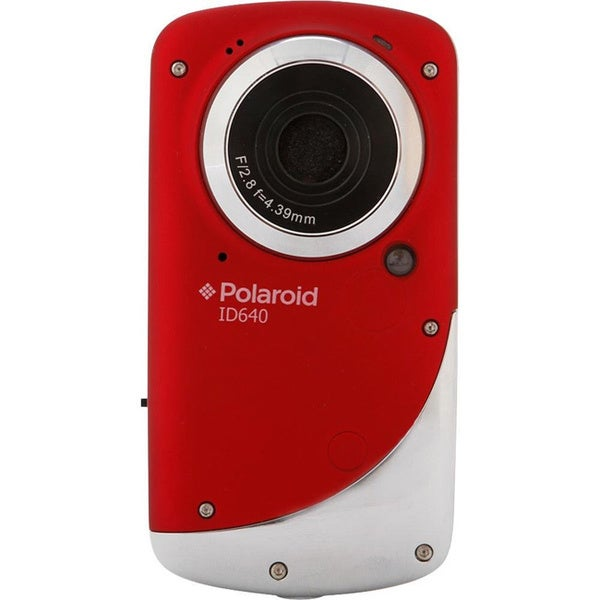 Polaroid ID640 Underwater Red Digital Camcorder