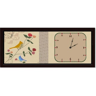 Ankan 'Postal Bird' Clock Art