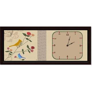 Ankan 'Postal Bird' Clock Art
